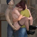 MILF gets fucked 3D sex games