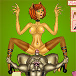 Sex game: Felatia Alien Sex