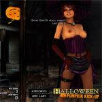 Halloween Pumpkin Kickup