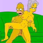 Porn Games - Homer's Happy Chance - Click to Play for Free