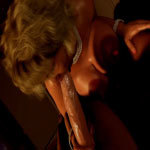 MILF gets pounded by a huge cock made by Nylon3D