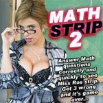 Porn Games - Math Strip 2 with Miss Gabriela Ros - Click to Play for Free