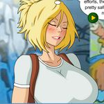 Free Porn Game - Meet and Fuck: Power Girl - Pity Sex, Titty Sex