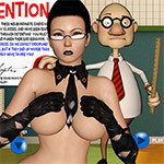 Sex Game - Spank 18: Detention