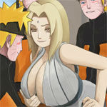 Sex game: Tsunade vs Naruto