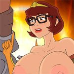 Adult Porn Game - Velma Gets Spooked 5