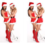 Sex Games - VirtuaGirl Differences Xmas Edition - Click to Play for Free