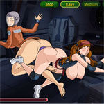 Sex game: Zero Gravity Jugs 2